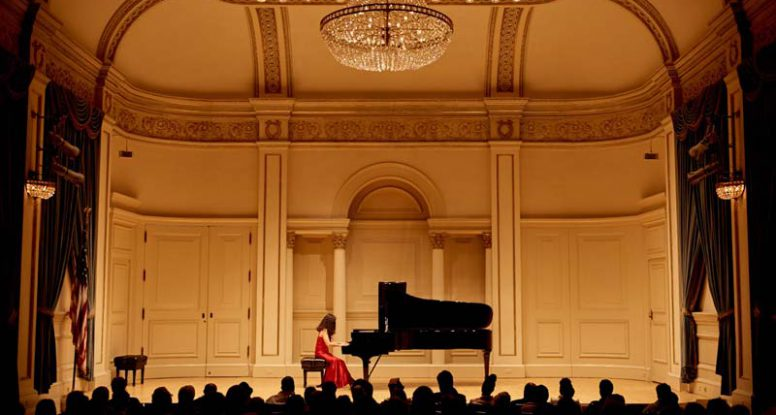 Yoko at Carnegie Hall